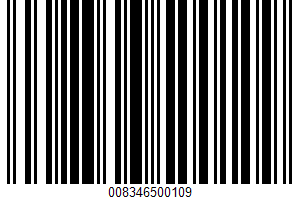 Advanced Nutrition High Protein UPC Bar Code UPC: 008346500109