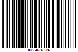 Advanced Nutrition Meal Replacement Shake UPC Bar Code UPC: 008346740086