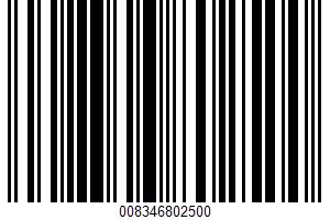 Advanced Nutrition Baked Chips UPC Bar Code UPC: 008346802500