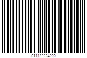 Air Popped Potato Chips UPC Bar Code UPC: 011150224000