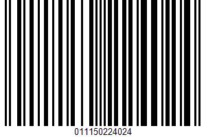 Air Popped Potato Chips UPC Bar Code UPC: 011150224024