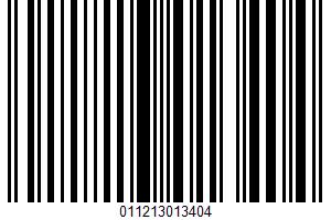 A Premium Ice Cream UPC Bar Code UPC: 011213013404