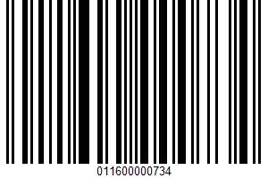 Alaga, Pancake Syrup UPC Bar Code UPC: 011600000734