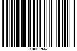 Aged Asiago Lasagna Sauce UPC Bar Code UPC: 013800376428