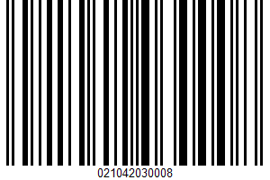 Ahold, Brown Sugar Ham UPC Bar Code UPC: 021042030008