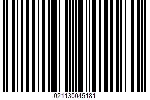 Aged Swiss Cheese Slices UPC Bar Code UPC: 021130045181