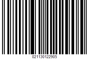 Alaska Cod Fillets UPC Bar Code UPC: 021130122905