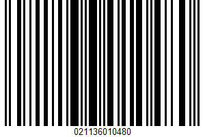 Agua Mineral UPC Bar Code UPC: 021136010480
