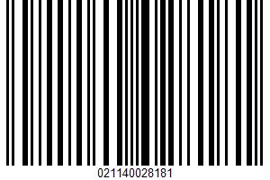 Wavy Potato Chips UPC Bar Code UPC: 021140028181