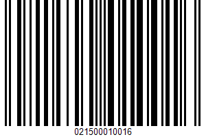 Adolph's, Meat Loaf Mix UPC Bar Code UPC: 021500010016