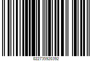 Albertsons/safeway, Oven Baked Cookies, Chocolate Chip UPC Bar Code UPC: 022735920392