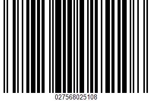 A Semi-sweet Basket Cheese UPC Bar Code UPC: 027568025108
