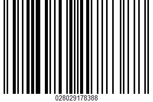 Alaskan Salmon Burgers UPC Bar Code UPC: 028029178388