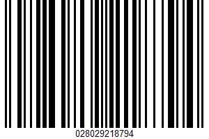 Alaskan Pollock Burgers UPC Bar Code UPC: 028029218794
