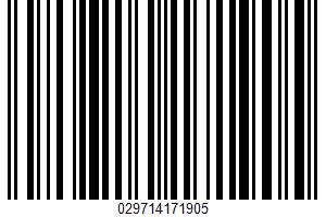 Ahi Tuna UPC Bar Code UPC: 029714171905