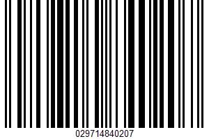 Alaska Sockeye Salmon UPC Bar Code UPC: 029714840207