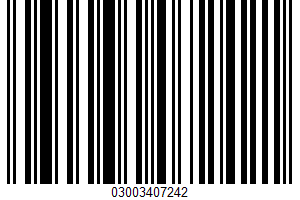 Dairy Whipped Topping UPC Bar Code UPC: 03003407242