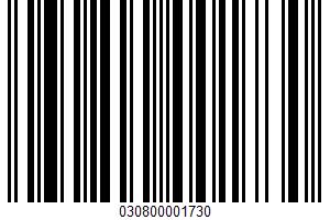 A Fat Free Candy UPC Bar Code UPC: 030800001730
