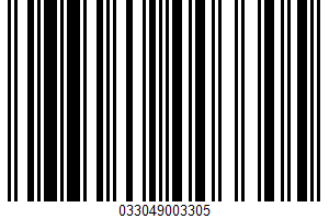 Air Popped Popcorn UPC Bar Code UPC: 033049003305