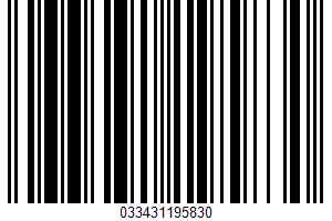 Uncured Smoked Kielbasa UPC Bar Code UPC: 033431195830