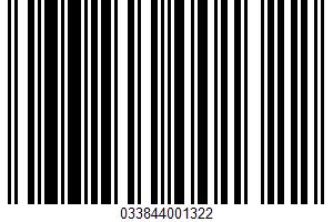 Adobo Seasoning UPC Bar Code UPC: 033844001322