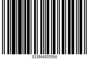 Adobo Seasoning Without Pepper UPC Bar Code UPC: 033844005504