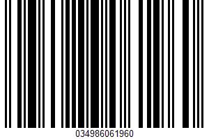 Affy Tapple, Famous Homemade Caramels UPC Bar Code UPC: 034986061960