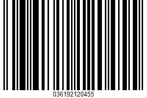 Agua Fresca UPC Bar Code UPC: 036192120455