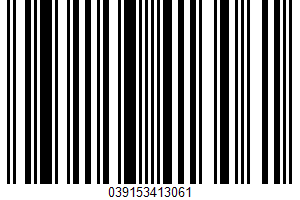 Aged White Wine Vinegar UPC Bar Code UPC: 039153413061