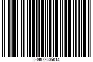 Active Dry Yeast UPC Bar Code UPC: 039978005014