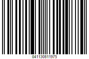 Ahi Tuna UPC Bar Code UPC: 041130811975