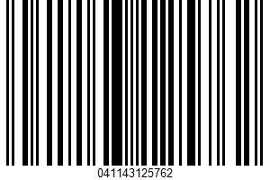 A Natural Fruit Treat UPC Bar Code UPC: 041143125762