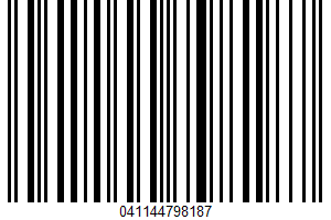 Albertsons Bakery, Egg Bagel UPC Bar Code UPC: 041144798187