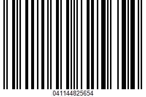 Albertsons, Plain New York Bagels UPC Bar Code UPC: 041144825654