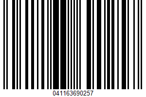 Albertsons, Low Fat Milk UPC Bar Code UPC: 041163690257