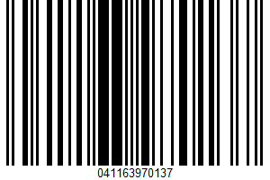 Albertsons, Wheat Bread UPC Bar Code UPC: 041163970137