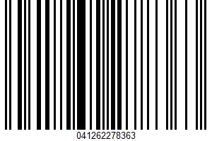 Air Popped Popcorn UPC Bar Code UPC: 041262278363