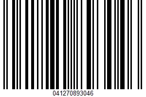 Alaskan Pink Salmon UPC Bar Code UPC: 041270893046