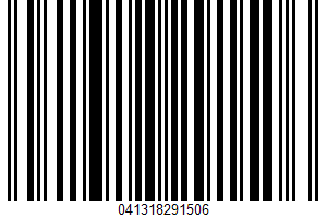 A Sweetened Corn Cereal UPC Bar Code UPC: 041318291506