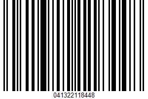 Alaskan Salmon Burgers UPC Bar Code UPC: 041322118448
