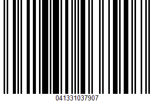A Low Sodium Seasoning UPC Bar Code UPC: 041331037907
