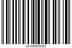 Albers, Yellow Corn Meal UPC Bar Code UPC: 041449056265