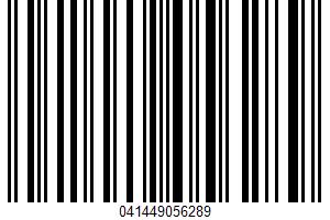 Albers, White Corn Meal UPC Bar Code UPC: 041449056289