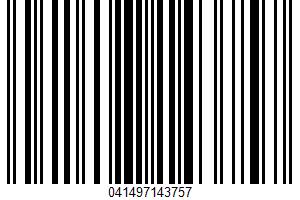 Weis Quality, Hamburger Relish UPC Bar Code UPC: 041497143757