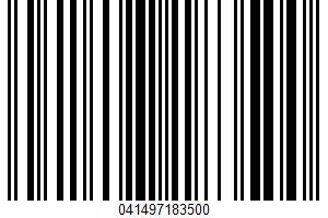 Weis Quality, Crisp N Sweet, Whole Kernel Golden Corn UPC Bar Code UPC: 041497183500