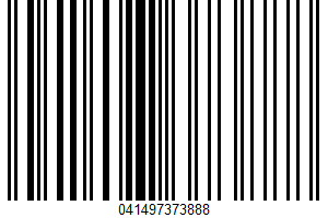 Weis Quality, Corn Starch UPC Bar Code UPC: 041497373888