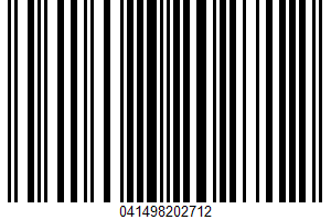 Agave Nectar UPC Bar Code UPC: 041498202712