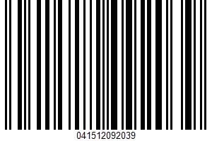 Aged Cheddar Cheese Sauce UPC Bar Code UPC: 041512092039