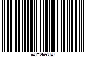 Aged Asiago UPC Bar Code UPC: 041735093141