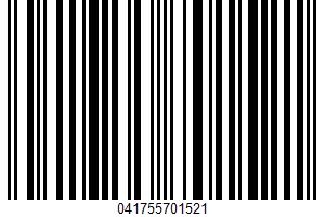 Agua Fresca UPC Bar Code UPC: 041755701521